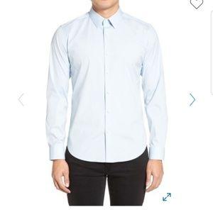 Theory Sylvin slim Fit long Sleeve Shirt